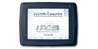 I.R.I.S. System color touch screen interface
